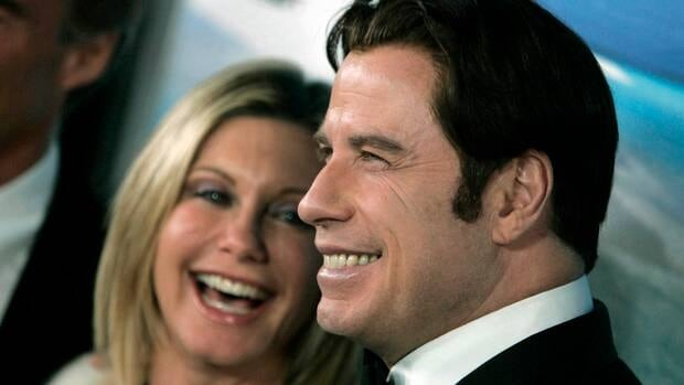 Olivia Newton-John, left, and John Travolta have recorded a new Christmas album together.