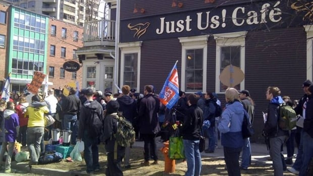 Protests were held this past summer over what some claimed was the firing of staff who were trying to form the union. That dispute was later resolved.