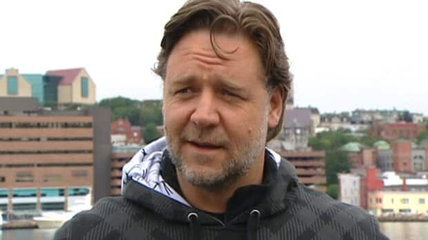 Russell Crowe, seen last August while shooting an episode of Republic of Doyle by St. John's harbour, appears in the premiere episode of the show's third season.