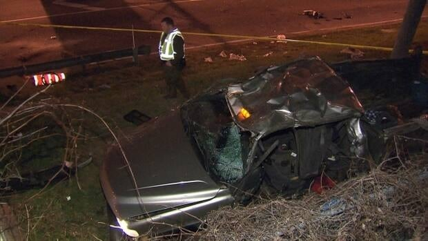 On Friday morning, officers investigated a fatal overnight crash.