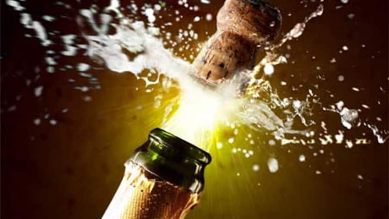new year s eve how to safely open a champagne bottle cbc news