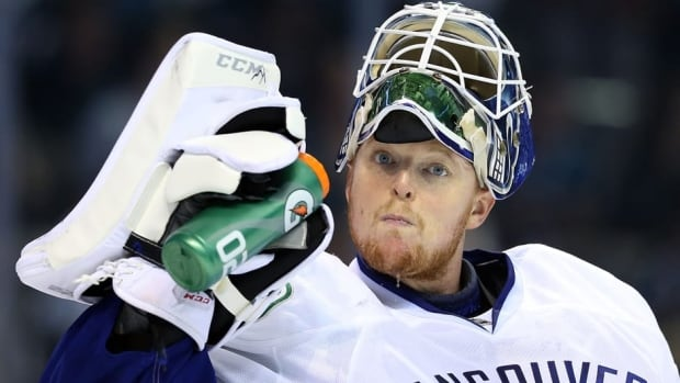 Cory Schneider posted a 17-9-4 record in 2013 with the Vancouver Canucks, and was 0-2 as a starter in the playoffs against San Jose.