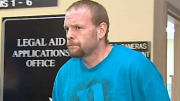 Kenny Green, 34, after appearing in provincial court in St. John's on Tuesday.
