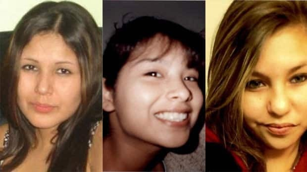 A 52-year-old man has been accused of the second-degree murder of three Winnipeg women, from left to right, Carolyn Sinclair, Tanya Jane Nepinak and Lorna Blacksmith.
