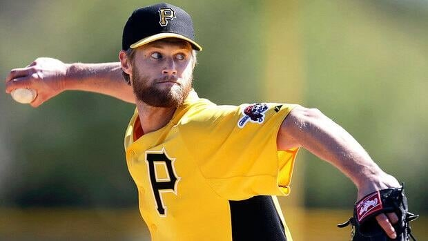 Pirates relief pitcher Chris Leroux, who's playing for Canada at the World Baseball Classic, says the velocity on his fastball is near 2011 form when it sat in the 92-97 mile-per-hour range. The pitch dipped to 89-94 mph last season after he returned from a strained pectoral muscle.