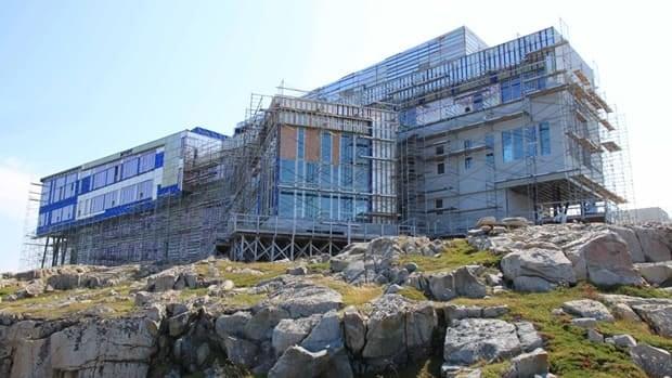 Fogo Island Inn And Art Gallery Aim High With Luxury Rooms Newfoundland Amp Labrador Cbc News