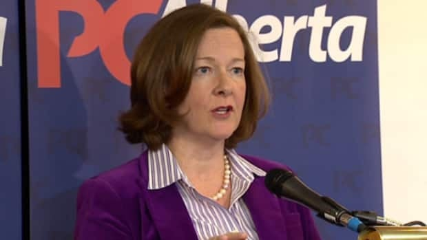 Premier Alison Redford spoke about party communication at the policy conference in Edmonton this weekend.