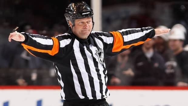 Referee Dan O'Halloran is one of the NHL's senior officials who will be out of work if regular-season games are missed due to the lockout.