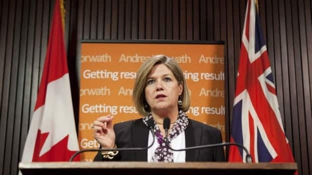 NDP Leader Andrea Horwath says there's a 50-50 chance she'll either prop up Kathleen Wynne's Liberal minority government or reject the Ontario budget.