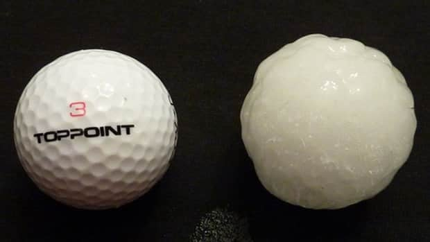 Hail the size of golf balls pelted Calgary in mid-August.