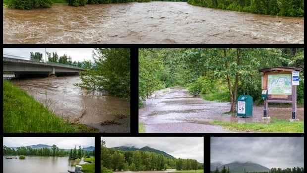 These images of flooding in Fernie, B.C. was submitted to the CBC's B.C. Almanac Listeners' Lens Photogallery.