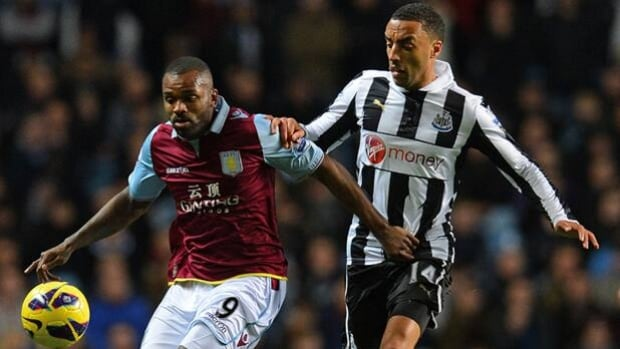 Forward Darren Bent, left, will play for Fulham this EPL season on loan from Aston Villa.