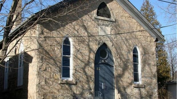 The former British Methodist Episcopal Church at 83 Essex St., in Guelph, becomes a city heritage site on Saturday. The limestone church was built by slaves and abolitionists in 1880.