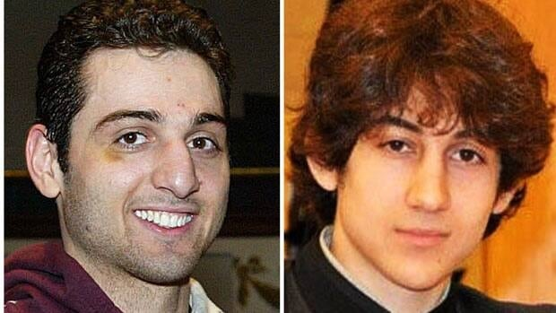 Tamerlan Tsarnaev, 26, left, and Dzhokhar Tsarnaev, 19, are suspects in the deadly bombings at the Boston Marathon on April 15. Tamerlan was killed in a manhunt, while Dzhokhar remained in hospital Tuesday, and now faces federal charges.