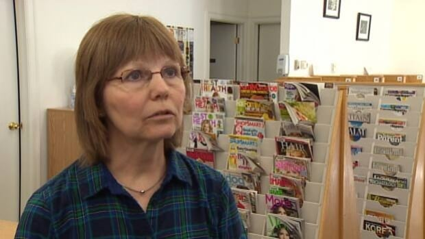 Sue Aldred says the vandals even stole a penny jar that was collecting money to buy children's books.