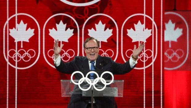 "Marcel Aubut, president of the Canadian Olympic committee, says ""we are strengthening our sports system for today and tomorrow"" with the funding plan announced Wednesday."