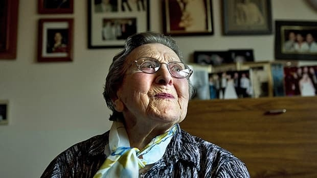 Rebecca Koch, 100, of Toronto is one the country's more than 5,800 centenarians.