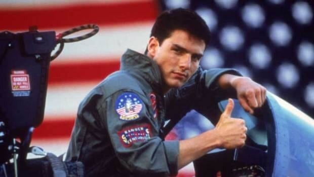 Tom Cruise plays an elite fighter pilot in Top Gun, which will be re-released in 3D in February.