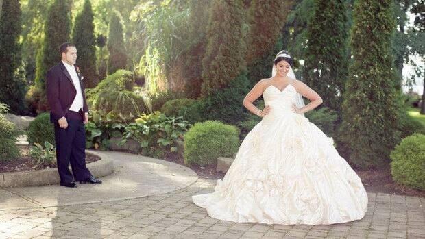 Charlene Esposto-Scheibler married David Scheibler on Sept. 22 at St. Ann's Church in Ancaster.