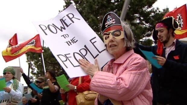 The campaign 'Power to the People' calls for Nova Scotia Power to become a provincially owned utility.