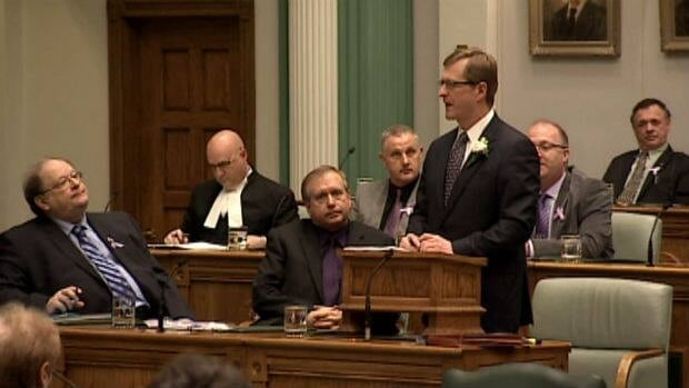 Finance Minister Jerome Kennedy brought down the provincial budget on March 26.