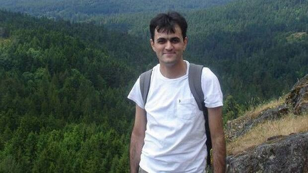 Saeed Malekpour is shown in a handout photo taken from the 'Free Saeed Malakpour' Facebook page.