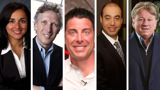 Carmela Trombetta, Mark Chamberlain, Mike Morreale, Paul Lee-Chin and Blair McKeil are the 2013 Lions.
