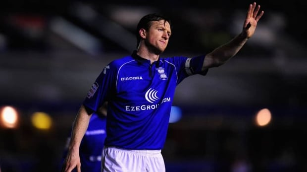 Steven Caldwell spent the past two seasons with Birmingham City of England's League Champoinship.