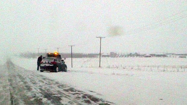 A number of vehicles were in need of help along Highway 11 near Saskatoon on Wednesday.