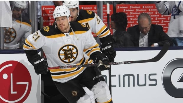 Boston Bruins defenceman Andrew Ference hasn't played since Game 5 of the Toronto series.