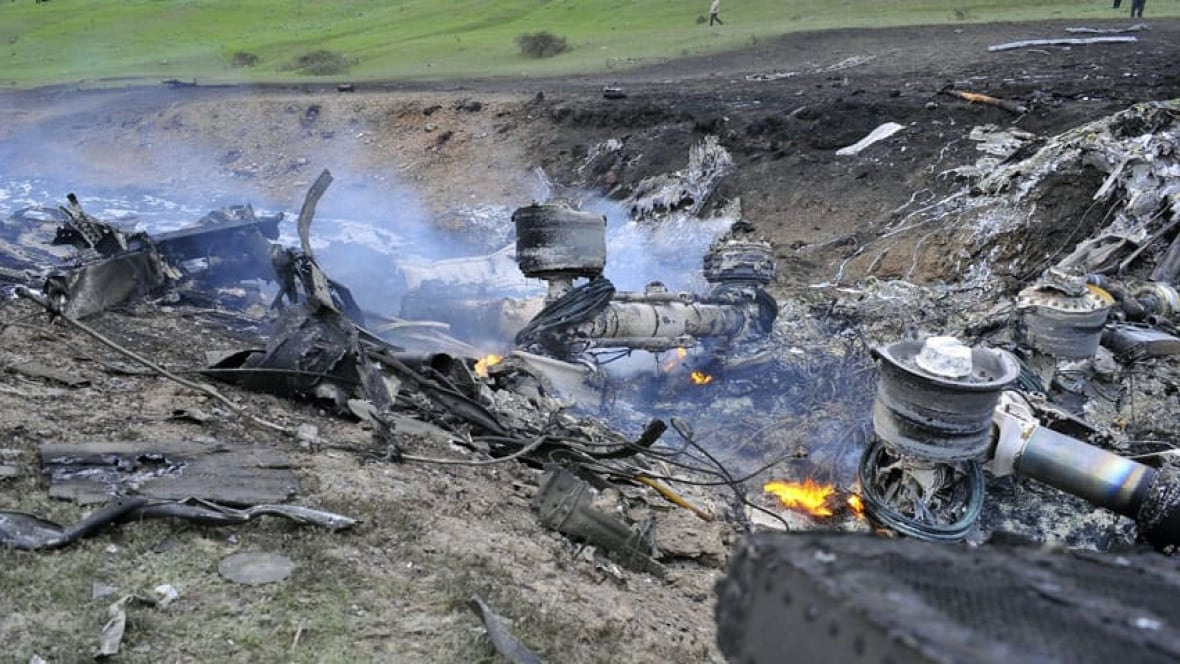 U S Military Plane Crashes In Kyrgyzstan With 3 Onboard