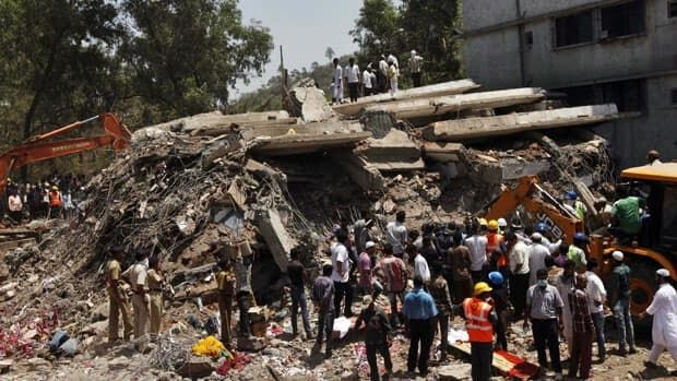 A building collapse in suburban Mumbai on Thursday has killed dozens of people, and officials said the neighbourhood where the cave-in happened is part of a belt of illegal structures that had sprung up in the area in recent years.