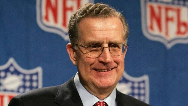 Paul Tagliabue, shown here in this 2005 file photo, will hear the appeals of four players suspended in the Saints bounties scandal.