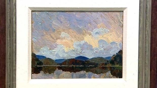 The painting by Tom Thomson has been conservatively valued at $150,000 to $200,000.