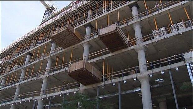 Two construction companies which failed to follow proper guidelines were fined by Quebec's workplace safety board.