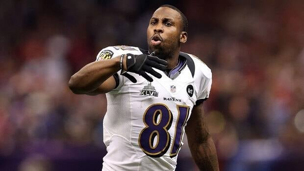 Anquan Boldin led Baltimore with 65 catches for 921 yards and four TDs in 2012.