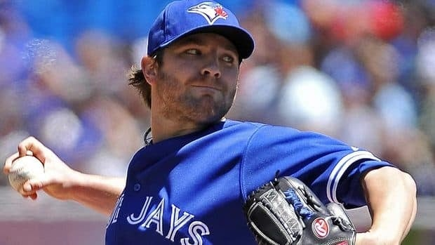 Jays pitcher Kyle Drabek was forced to leave Wednesday's game against Washington after spraining a right elbow ligament.