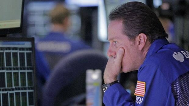 Stocks on the New York Stock Exchange opened sharply lower Tuesday on disappointing earnings seemed to confirm concerns about the slow global economy and its impact on corporate results.
