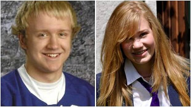 The families of Steven Hutchison, left, and Daron Richardson, have been public about their deaths by suicide and hope others will become more willing to talk about youth mental health.