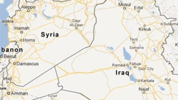 An Iraqi ambush that occurred Monday killed 40 Syrian troops near the area of Akashat, not far from the Syrian border.