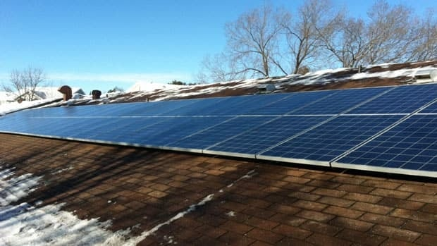 The Kenora District Services Board installed solar panels on eight social housing buildings in an effort to generate revenue. It sells the energy generated to the Ontario Power Authority.