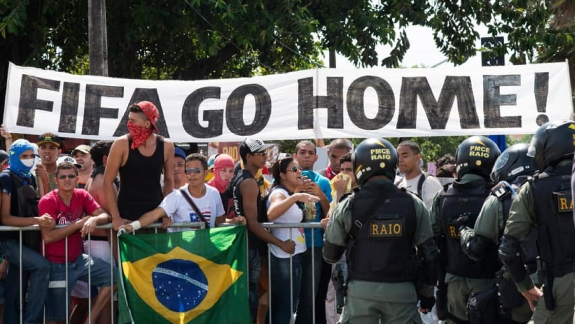 Brazil protests show cost of hosting major sports events ...