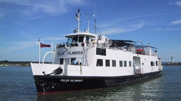 The Pelee Islander ferry could have trouble getting to and from the island if an expert's prediction of dry Great Lakes comes true.