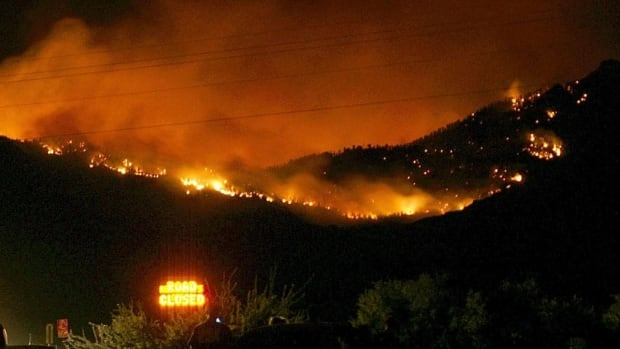 The Dean Peak fire in Arizona has burned nearly seven square miles after it was started on Saturday by lightning in the Hualapai Mountains.