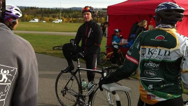 Zach Bell invited Yukoners to join him on a 25-kilometre bike ride around the city on Saturday.