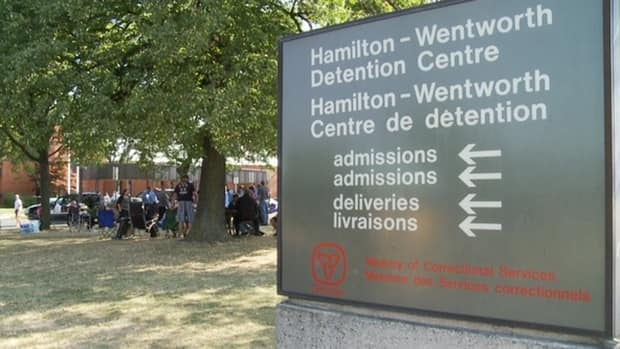 Correction officers at the Hamilton-Wentworth Detention Centre have been off the job since Aug. 13.