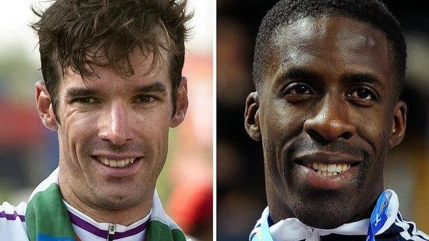 The Court of Arbitration for Sport on Monday ruled that Scottish cyclist David Millar, left, and British sprinter Dwain Chambers, right, have had their lifetime Olympic bans lifted.