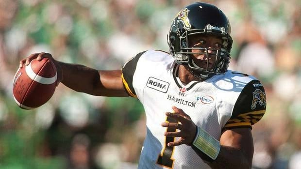 Hamilton Tiger-Cats quarterback Henry Burris has been right on his game the last three weeks, taking his club to the top of the CFL East.