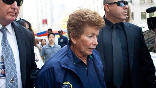 Lois Ann Goodman was arrested last week in New York while preparing to work at the U.S. Open.