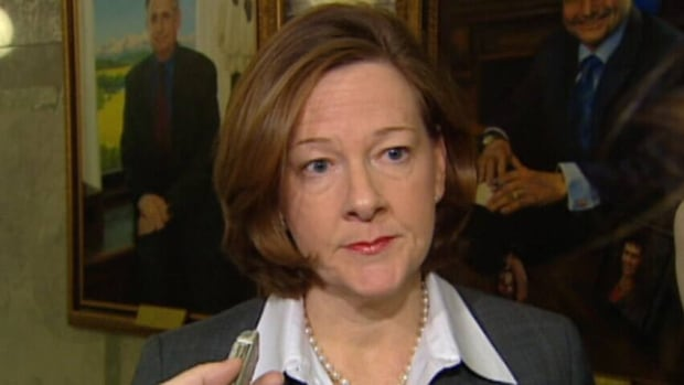 Allison Redford stepped down as Alberta premier last month.